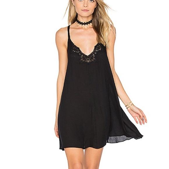 9fc81db43f918d Free People Kendall Trapeze Slip Dress - Black